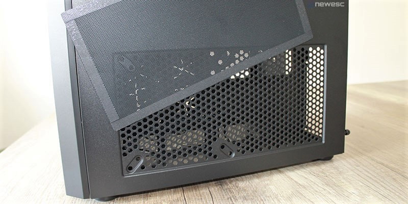 review corsair crystal series 280x salida aire psu