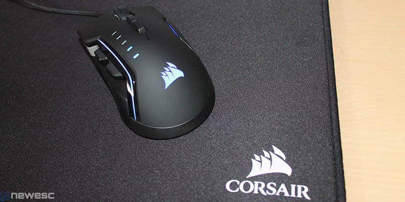 review corsair glaive rgb pro posterior