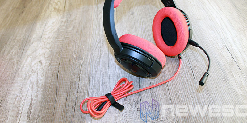 review corsair hs35 auriculares 2