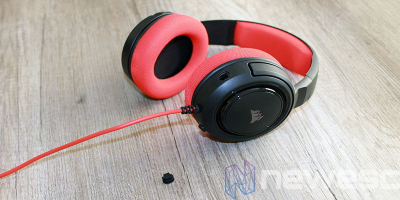 review corsair hs35 auriculares