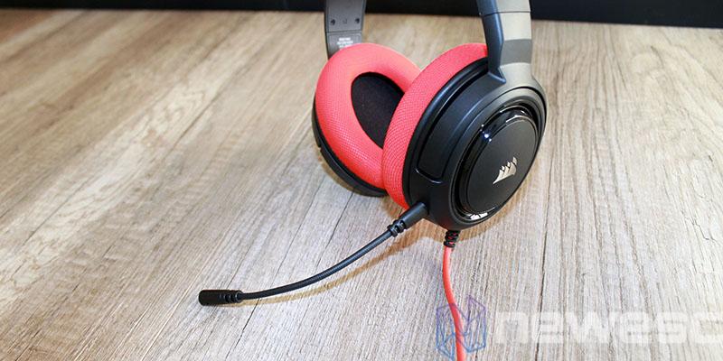 review corsair hs35 microfono