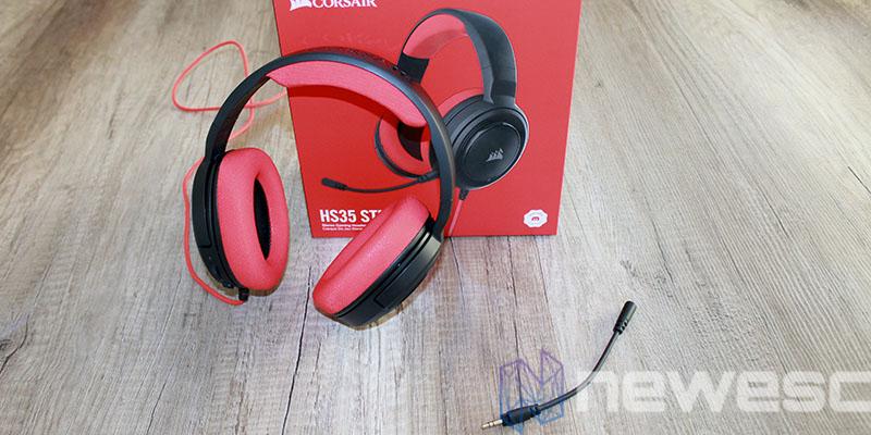 review corsair hs35 pack