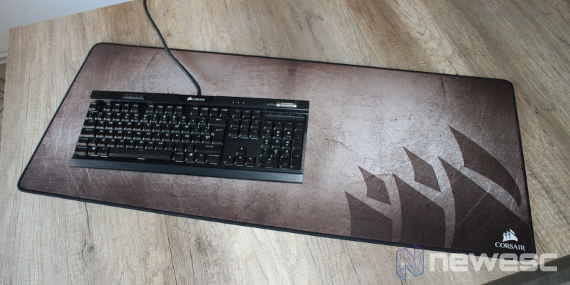 review corsair mm350 teclado 2