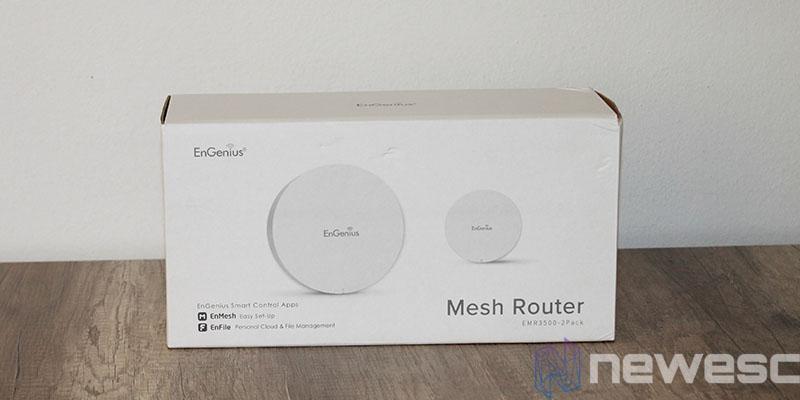 review engenius EMR3500 caja