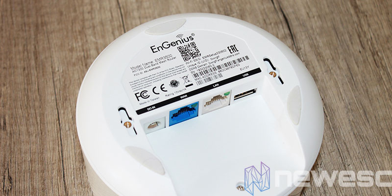 review engenius EMR3500 parte inferior