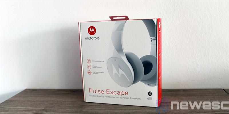 review motorola pulse escape caja 2