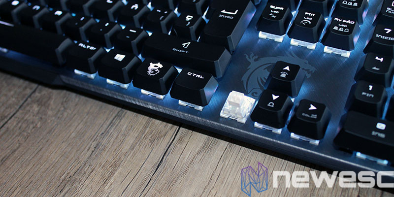 review msi vigor gk50 elite switch