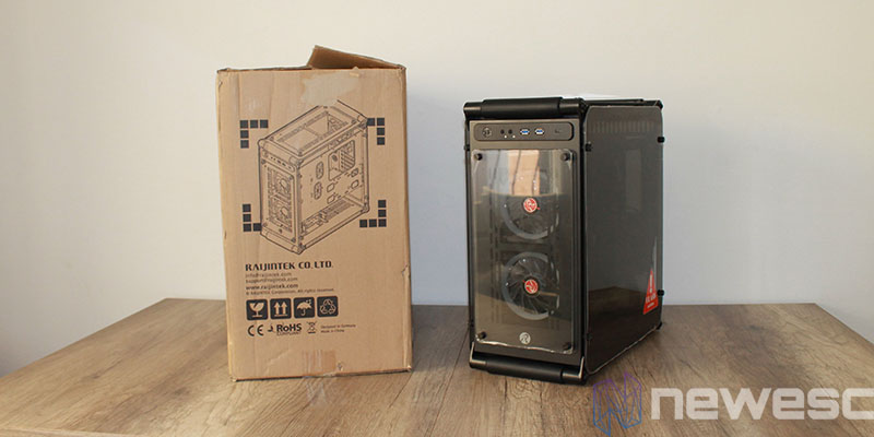 review raijintek coeus elite unboxing