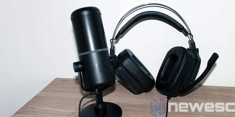 review razer seiren elite microfono cascos