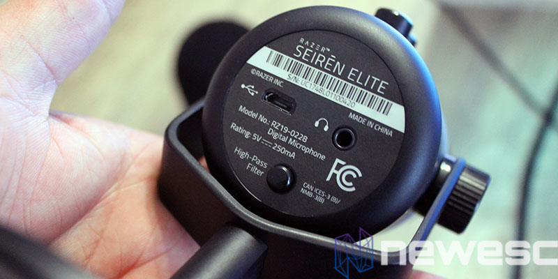 review razer seiren elite posterior