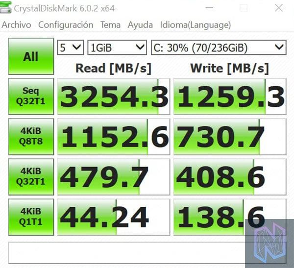 review xiaomi mi laptop air crystaldisk