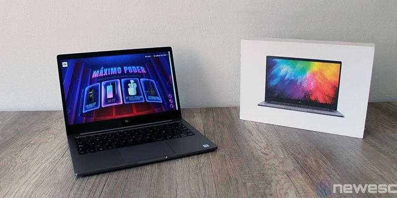 review xiaomi mi laptop air packaging