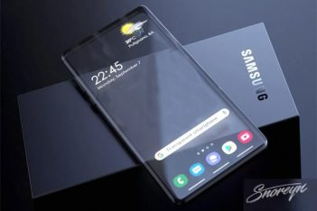 samsung patente movil con pantalla transparente