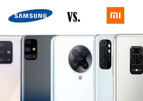 samsung vs xiaomi cuál es mejor en gama media