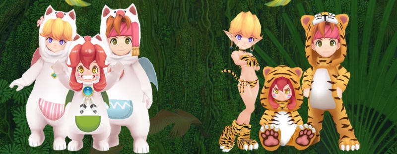 secret of mana trajes