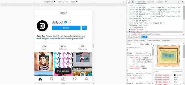 subir-imagenes-instagram-desde-pc-herramientas-de-desarrollador-chrome