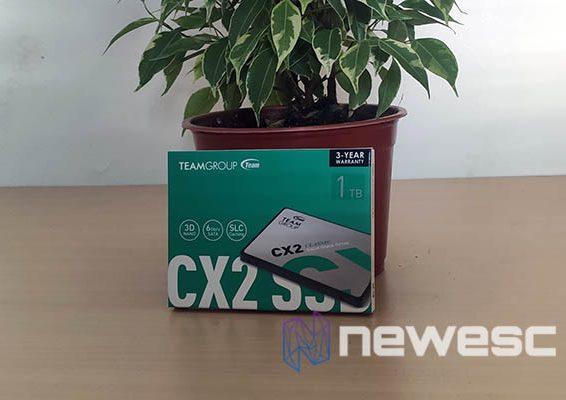 team group CX2 SSD destacada