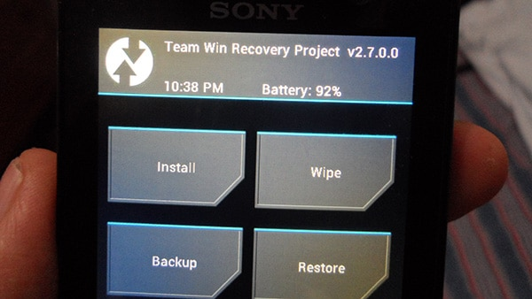 tutorial como root android sony xperia xa twrp