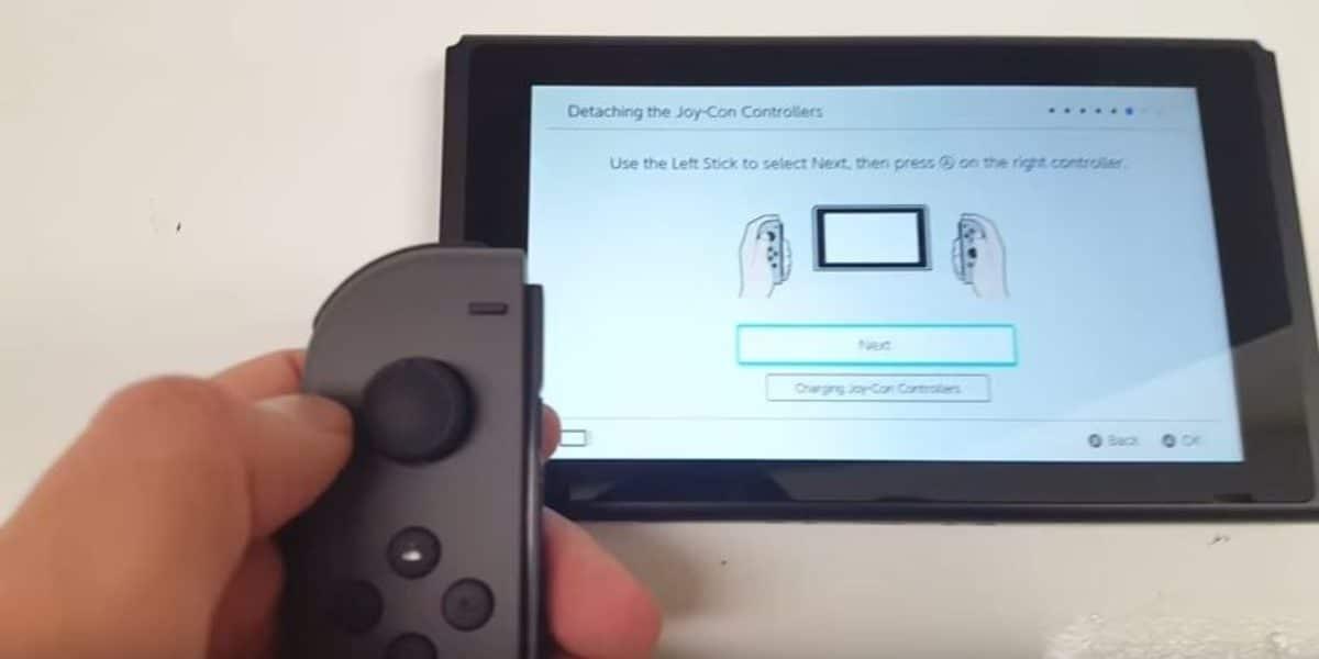 video-filtrado-sobre-la-interfaz de la switch
