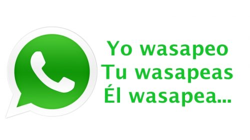 wasapear verbo whatsapp