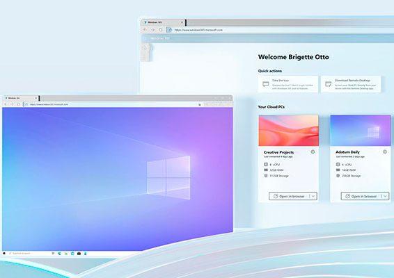windows 365 sistema operativo en la nube