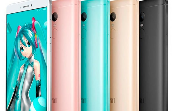 redmi note 4x colores