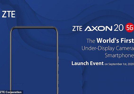 zte axon 20 5g 1er movil con camara frontal bajo la pantalla 1